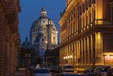 Austria, Vienna, Karlskirche (St. Charles's Church), Baroque, Musical Society Photographic Print by Gerhard Wild