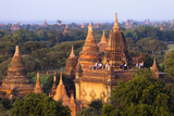 Ancient Temples of Bagan, Myanmar Photographic Print by Harry Marx