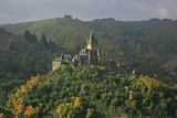The Imperial Castle Near Cochem on the Moselle in the Diffuse Light of an Autumn Day Photographic Print by Uwe Steffens