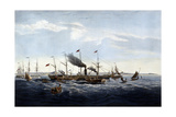 Steamship Great Western Circa 1840 Giclee Print by Joseph Walter