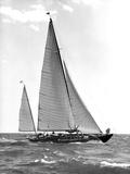 Sailboat Photographic Print by Edwin Levick