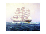 Clipper Cutty Sark Giclee Print by Frank Vining Smith