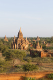 Sunset over Temples of Bagan, Myanmar Photographic Print by Harry Marx