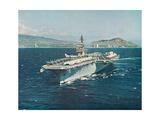 Forrestal, Aircraft Carrier Giclee Print