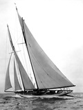 Yacht Virginia Photographic Print by Edwin Levick