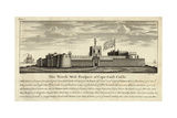 The North-West Prospect of Cape-Coast Castle 1727 Giclee Print by William Smith