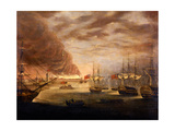 The Bombardment of Copenhagen, September 7th 1807 Giclee Print by Robert Dodd