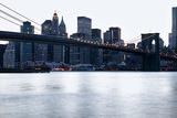 New York, Brooklyn Bridge and Lower Manhattan Photographic Print by  Skaya