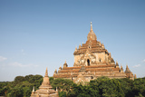 Temple in Bagan, Myanmar Photographic Print by Harry Marx