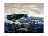 Sperm Whaling Fast Boat Ca. 1900-1930 Giclee Print by Clifford Warren Ashley