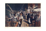 Women and Children First- Meet Me in New York Giclee Print by Fortunino Matania