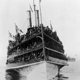 Steamship General Slocum Built 1891 Photographic Print