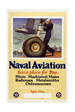 Naval Aviation Has a Place for You… Giclee Print by McClelland Barclay