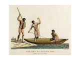 Natives of Botany Bay Giclee Print by Robert Cleveley
