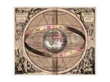 Armillary Sphere, 1710 Giclée-Druck von Gerard Valck