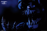 Five Nights At Freddy's - Nightmare Bonnie Poster