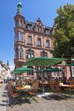 Germany, Heidelberg, Old Town, Gastronomy Photographic Print by Chris Seba