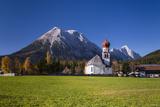 Austria, Tyrol, Wetterstein Range, Leutaschtal, Leutasch Photographic Print by Udo Siebig