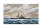 American Tugboat Amanda Winants Giclee Print by James Bard