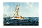 Fine Weather and Fair Wind 1946 Reproduction procédé giclée par Montague Dawson