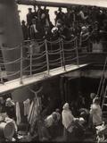 The Steerage Reproduction photographique par Alfred Stieglitz