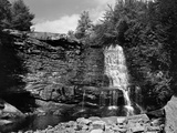 Muddy Falls in Oakland, Maryland Photographic Print by A. Aubrey Bodine