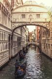 Bridge of Sighs, Italy, Veneto, Venice, Channel, Ponte Dei Sospiri Photographic Print by Martin Zurek