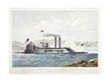 U.S. Ironclad Ram Lafayette Giclee Print by John Henry