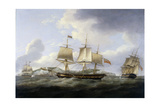 The Coromandel and Dublin 1800 Giclee Print by Thomas Luny