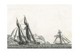 Pilote-Bot, Petit Batiment Des Etats-Unis, Ca. 1806 Giclee Print by Jean Jerome Baugean