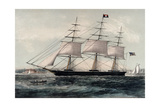 Clipper Ship Nightingale 1854 Giclee Print by James Edward Buttersworth
