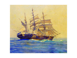 Nantucket Whaler, Andrew Hicks Giclee Print by Frank Vining Smith
