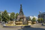 Germany, the Rhine, Baden-WŸrttemberg, Mannheim, City Centre, Paradeplatz Photographic Print by Chris Seba