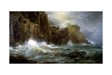 Coast of Cornwall Giclee Print by William Trost Richards