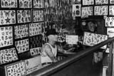 Interior View of Cap Coleman's Tattoo Parlor, 1936 Photographic Print by Cap Coleman