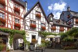 Half-Timbered Houses, City Centre, Beilstein, Moselle River, Rhineland-Palatinate, Germany Photographic Print by Chris Seba