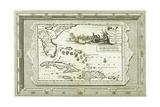 Florida En Virginie Door Lucas Vasquez D' Ayllon En Andere, Van Hispaniola Besterend 1714-1728 Giclee Print by Pieter Van Der Aa