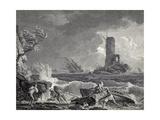 Ecueil Dangereaux Giclee Print by Claude-Joseph Vernet