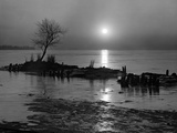 The Marsh - Late Evening Scene Photographic Print by A. Aubrey Bodine