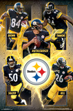 NFL- Pittsburgh Steelers Stars Prints