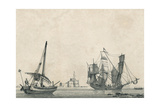 Bateau Espanol Giclee Print by Jean Jerome Baugean