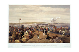 Disembarkation to the Expedition to Kertch at Kamish Bournou Giclee Print by E. Walker