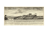 The South Prospect of Dixcove Fort Drawn 1727 Giclee Print by William Smith