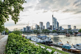 Germany, Frankfurt, Hesse, Skyline View from Direction Sachsenhausen Photographic Print by Bernd Wittelsbach
