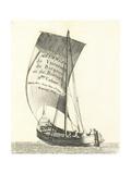 Barque De Cadiz Giclee Print by Pierre Ozanne