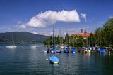 Germany, Bavaria, Upper Bavaria, Mangfall Mountains, Health Resort Tegernsee Photographic Print by Udo Siebig