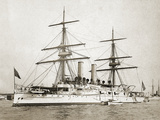 Uss Atlanta, 1891 Photographic Print by J. S. Johnston