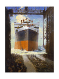 Launching of the Virginia Giclee Print by Walter L. Greene