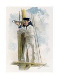 The Look Out Giclee Print by W. Christian Symons