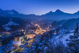 Germany, Bavaria, Upper Bavaria, Berchtesgaden, Berchtesgaden Photographic Print by Udo Siebig